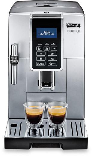 Vorschau: DE`LONGHI Dinamica ECAM Kaffeevollautomat bei MIOMONDO