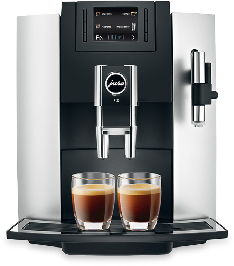Vorschau: JURA E8 Kaffeevollautomat bei MIOMONDO