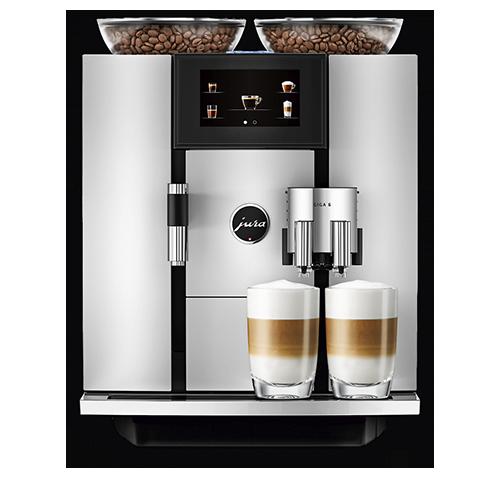 Vorschau: JURA GIGA-Linie Kaffeevollautomaten bei MIOMONDO