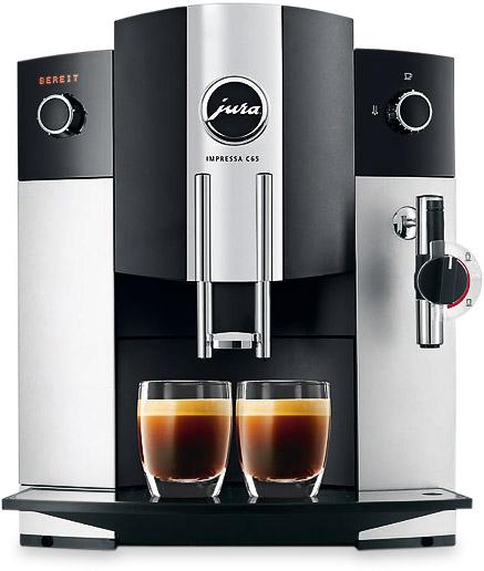 Vorschau: JURA Impressa C65 Kaffeevollautomat bei MIOMONDO