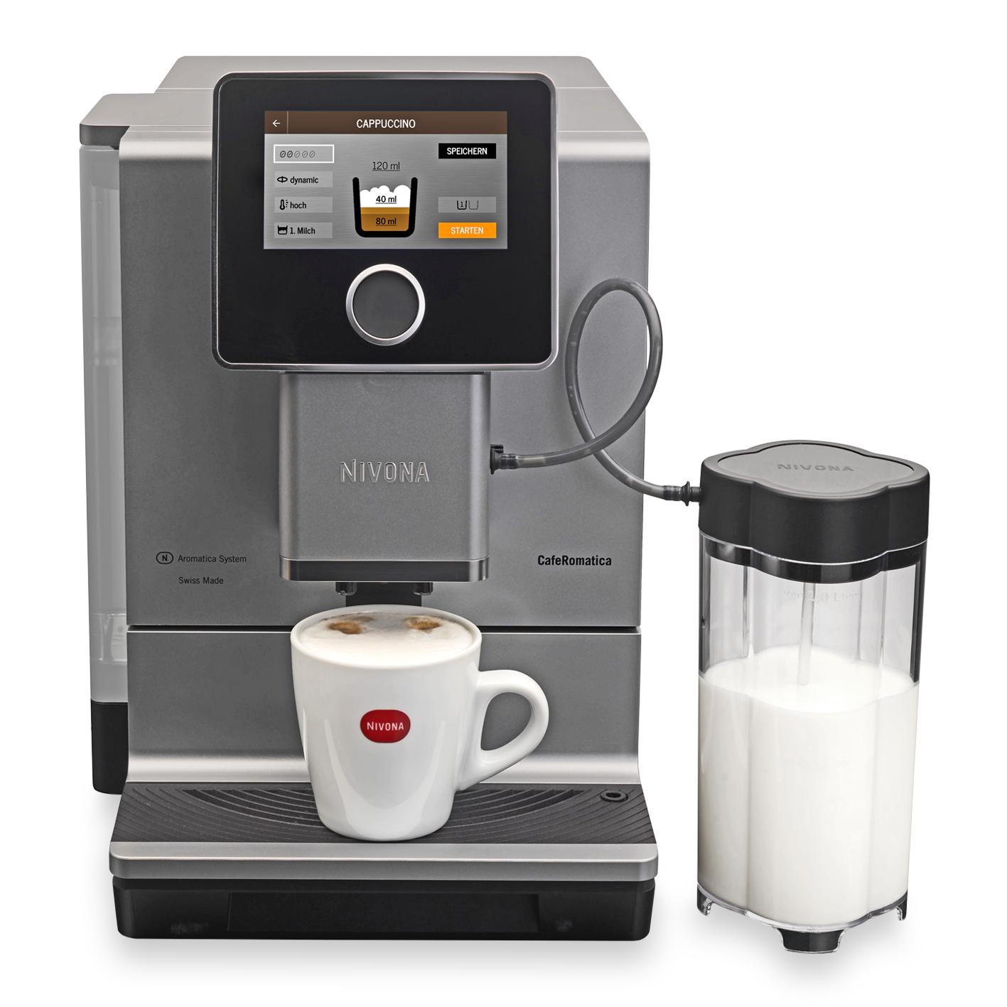 Vorschau: NIVONA CafeRomatica Serie 9 Kaffeevollautomat bei MIOMONDO