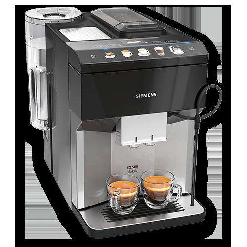 Vorschau: Siemens EQ.500 Serie Kaffeevollautomaten bei MIOMONDO