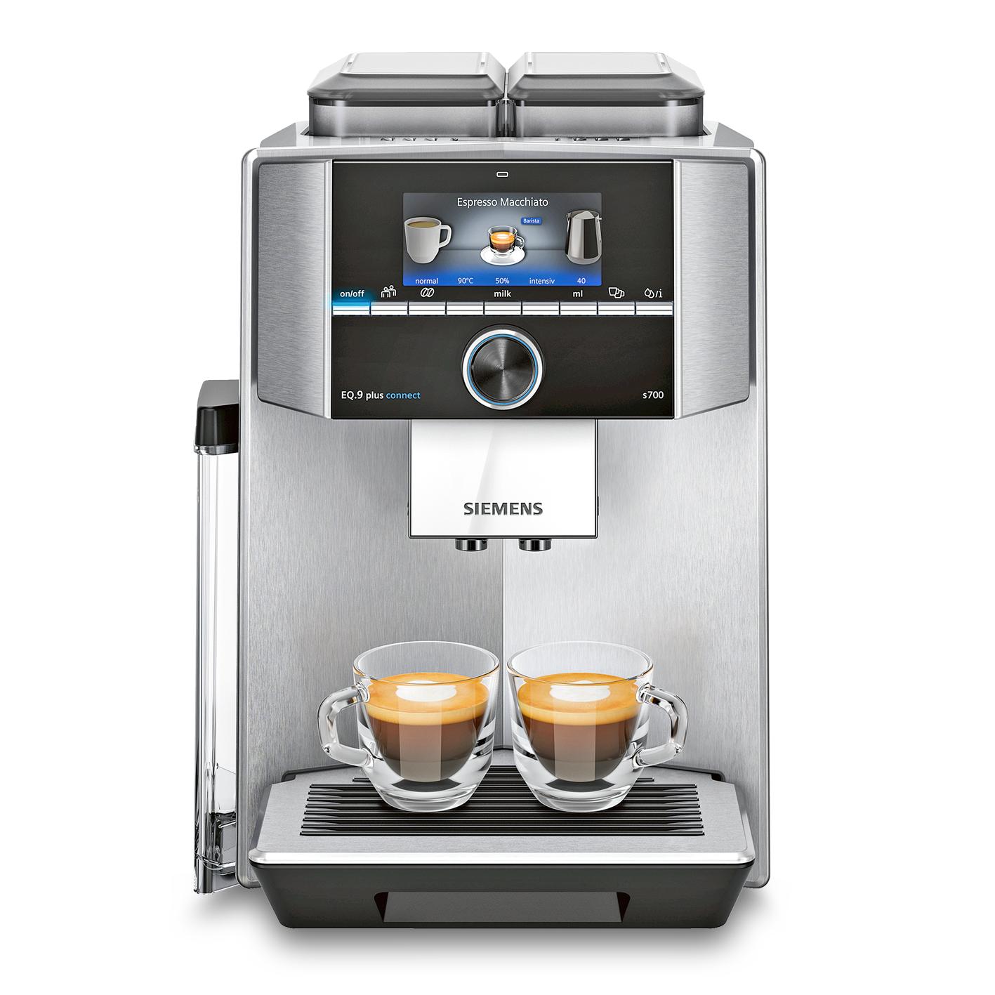 Vorschau: Siemens EQ.9 plus connect s700 Kaffeevollautomat bei MIOMONDO