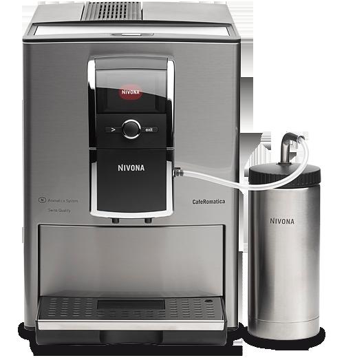Vorschau: NIVONA CafeRomatica 858 Kaffeevollautomat bei MIOMONDO