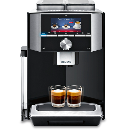 siemens eq 9 miomondo exclusiv kaffeevollautomat bei miomondo. Black Bedroom Furniture Sets. Home Design Ideas